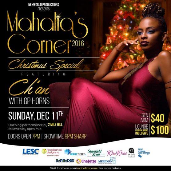 mahalias-corner-christmas-special