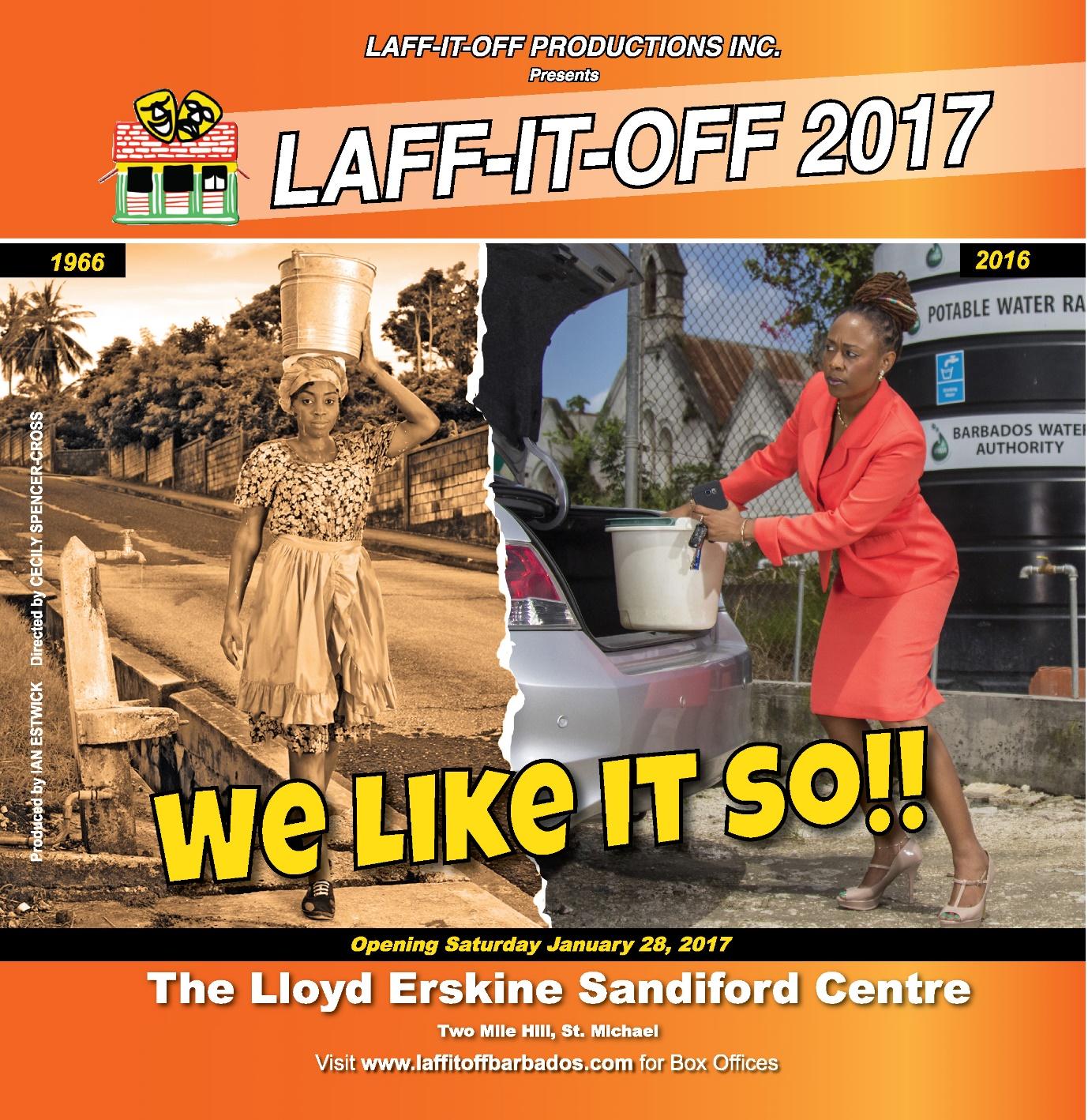 Laff It Off - We Like It So!! - Opening Night