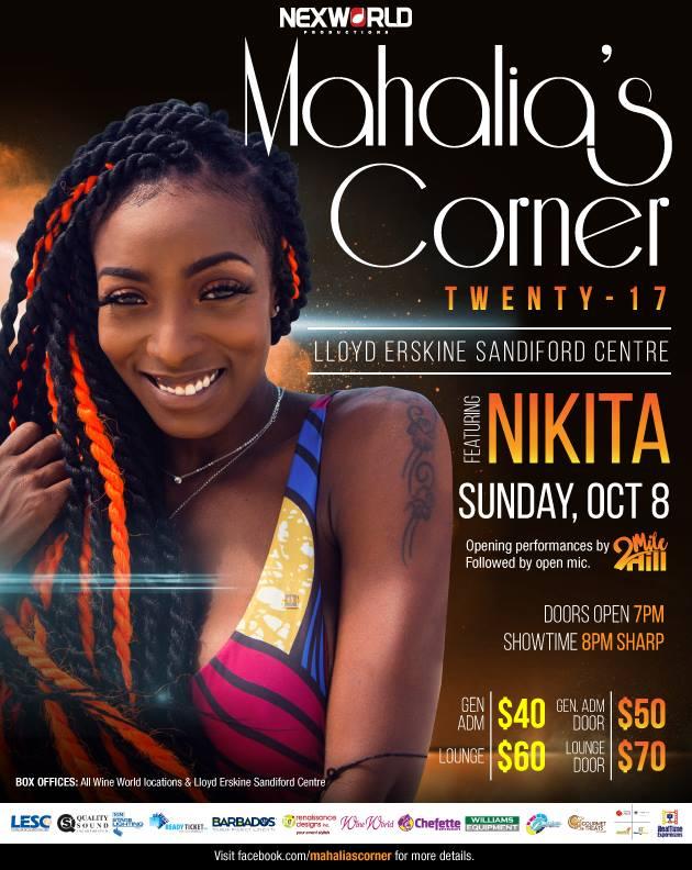 Mahalia's Corner