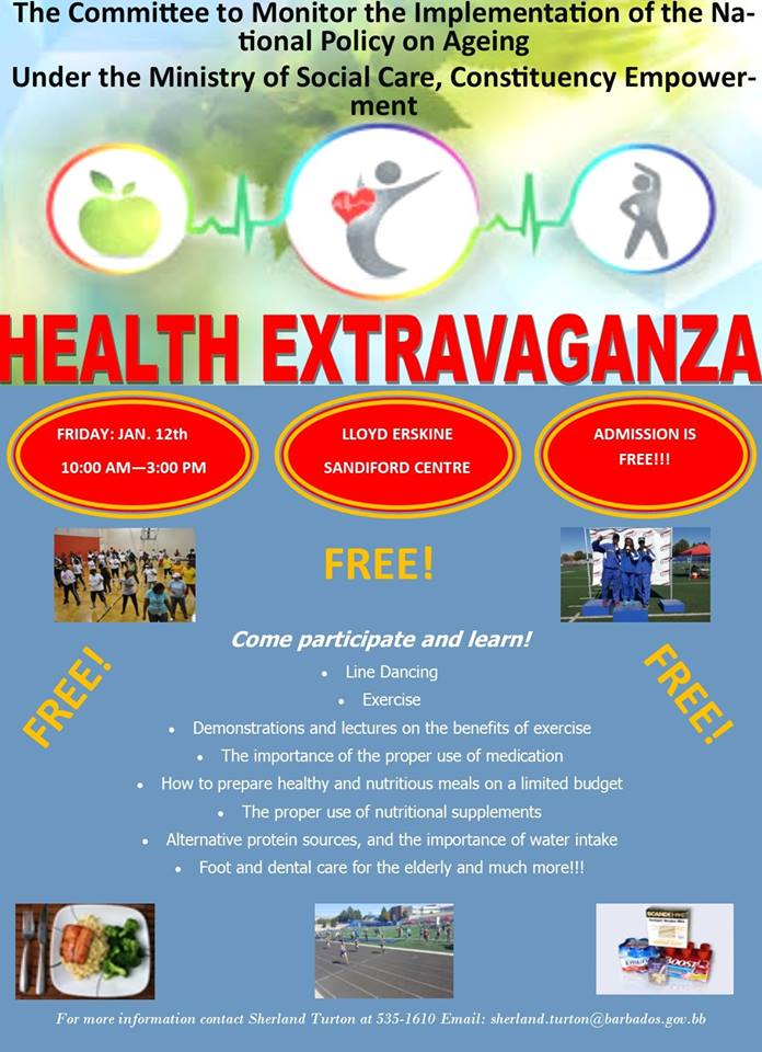 Ministry of Social Care Health Fair & Extravaganza