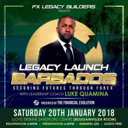 Legacy Launch Barbados