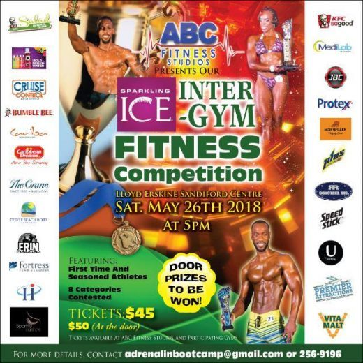 Sparkling Ice Inter-Gym Fitness Competition