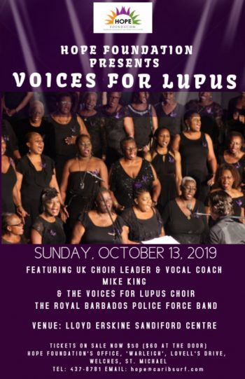 Voices for Lupus Concert 2019
