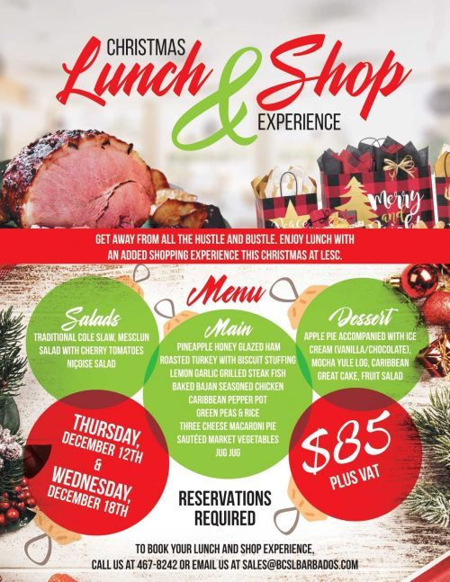 Christmas Lunch & Shop Experience