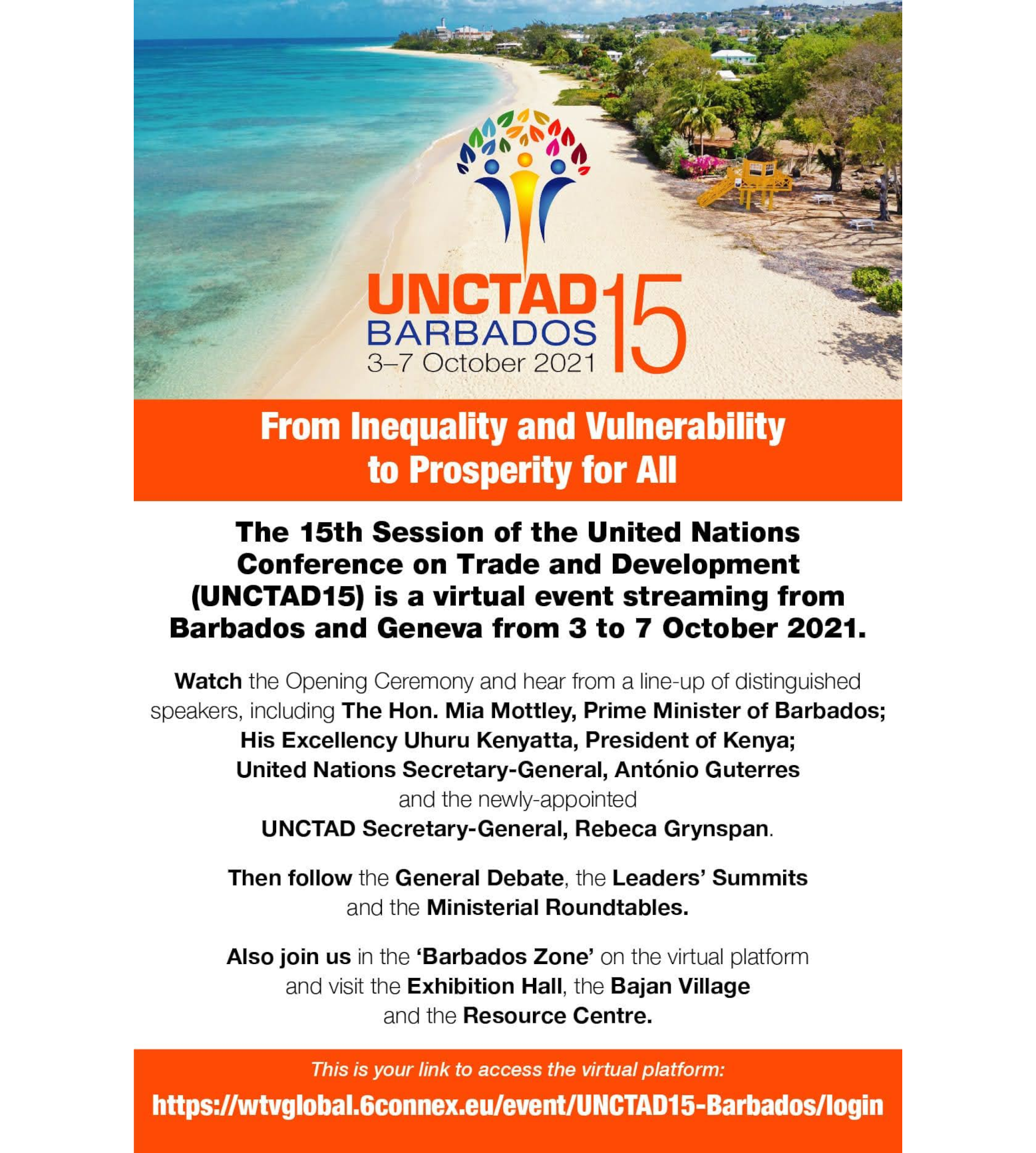 The United Nations Conference on Trade and Development (UNCTAD15)